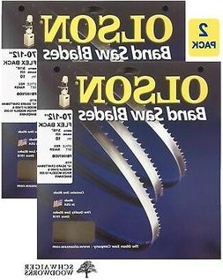 """Olson Band Saw Blade 70-1/2"""" x 3/16"""" 10TPI for 10"""" Craftsman"""