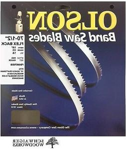 "Olson Band Saw Blade 70-1/2"" x 1/8"", 14TPI for 10"" Craftsman"