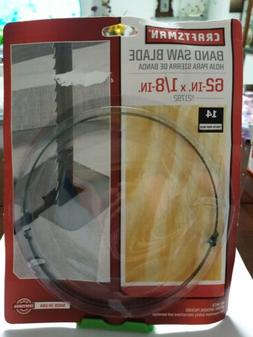 Craftsman 1/8 x 62 in. Band Saw Blade, 14 TPI, Hook Tooth