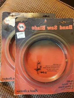 Black & Decker Band Saw Blades For Use With 74-480 Saw 74-48