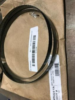 """JET Carbon Steel Band Saw Blade ,Raker Tooth Type,1/2"""" W, 41"""
