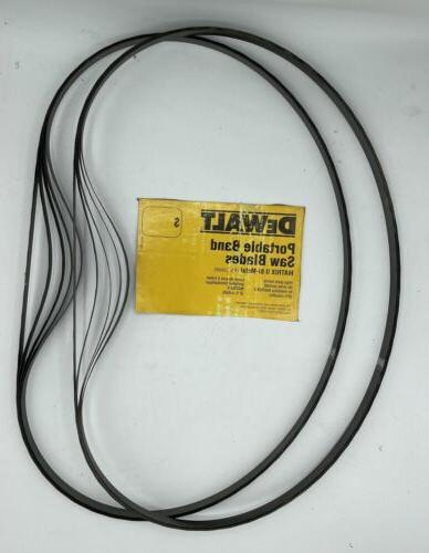 10 pack portable band saw blade 44