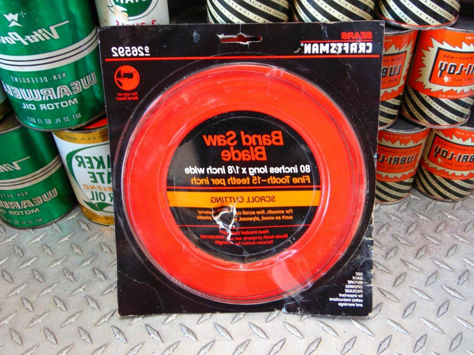 new 80 in band saw blade 1