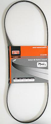 "Portable Band Saw Blade Bi Metal 10/14-TPI 5 Pack 44-7/8"" Lo"