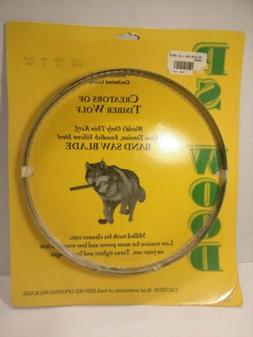 """NEW TIMBER WOLF BAND SAW BLADE 93 1/2"""" BY 1/2"""" WIDTH  3 TPI"""